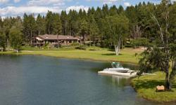 A Montana Recreational Paradise. The best of everything the Flathead Valley has to offer: your own private navigable inlet complete w/ boat dock shore power, just off the Flathead River fed by Swims C