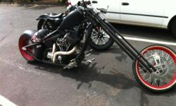 Custom built Red Neck Chopper 250 rear end Sick bike, one of a kind My price $46000, your price $15000 or trade for custom hot rod Call Alan
