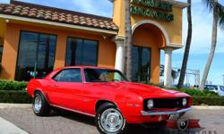 Domani Motor Cars is excited to announce the arrival of this 1969 Chevrolet Camaro Z28 Clone Resto-Mod! Finished in Red over a Black Leather interior, this Camaro has been tastefully redone. It is in