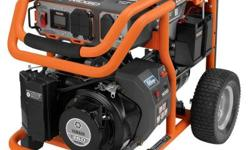 RIDGID Power Tools offers reliable, clean power with the RIDGID Portable Generator Line. This 6800 Watt Electric-Start Generator with Idle-Down is engineered to handle your toughest power needs on the
