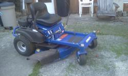 I have a bran new zero turn 42 in. cut DIXON ITS A REALLY GOOD ZERO TURN MOWER, we are going to be moving and i really dont want to get rid 0f it but it has to go, just had its first service done on i