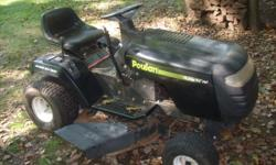 """I need room so I am selling my extra lawn equipment, several 42"""" riding mowers for parts or repair -some run fine some are lacking something. Also leaf blowers and snowblowers all run great/ Email me"""