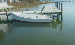 *******SOLD!!!!!!!!!******* (We can build you another, contact info below...) Offered here is a classic Chesapeake Deadrise Skiff, faithful reproduction of an Original by renowned Deltaville buil