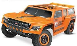 Friendly Hobbies has the Officially-Licensed Desert-Racing Style, Performance Robby Gordon Edition Dakar 2WD Slash RC Truck.  Everything you need to race this appeal is available in the box. Unbox it,