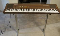 ROLAND HP-70 KEYBOARD HARPSICHORD ELECTRIC PIANO Great Price LOCAL PICKUP ONLY $150.00 or best offer Vintage Roland Piano Plus 70 electric keyboard. Please refer to all pictures for condition and qual