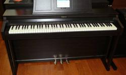 This digital piano is in MINT LIKE NEW condition, we consist of a 5 year warranty, brand-new ones offer for $4999.  The Roland HPi-6F is a preferred console digital piano-- it is simply and merely the