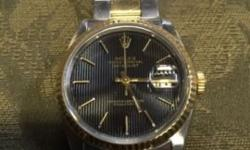 18k genuine Rolex date just worn all the time just changing up This ad was posted with the eBay Classifieds mobile app.