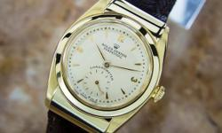 This is a Rolex, Ref 3064 Perpetual Mens Historic Watch Eb112 for sale by CLEAN DIAMONDS INC. The asking price is 18155 USD. This watch is in Los Angeles CA United States. Please contact CLEAN DIAMONDS INC to view this Rolex or to discuss shipping,