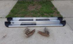 Luverne stainless with brackets for1990's GM extended cab, 80 inches long, nice condition