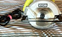 Ryobi 7-1/4 in. w/one combination blade included 13-Amp motor up to 5,000 RPM Spindle blade lock for easy, keyless blade changes Bevels to 51.5 for complex rafter cuts Adjustable depth of cut makes 2-