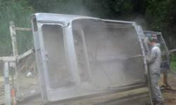 We are providing an alternative to hand sanding, caustic stripping chemicals and damaging sand/soda blasting. We can clean anything from doors, fender, frames and hoods to complete bodies and outside.