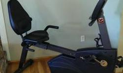 I purchased this with the finest of objectives, well I didn't doing this well. I only utilized a few times.  Schwinn 227p recumbent workout bike with heart rate monitor and manual. $250.00 or best off