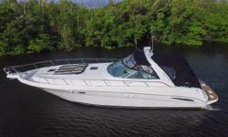 This Sea Ray 460 Sundancer is new to the market, in excellent condition, and priced to sell quickly. She was only used in freshwater until 2013 and the owner had her detailed monthly. Features and Upg