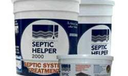 72 Treatments of Septic-Helper 2000. 800-929-2722. All natural septic system treatment of germs and enzymes for septic systems Texas.72 Monthly Treatments. $20 mfg voucher. * Adds Bacteria to assist b