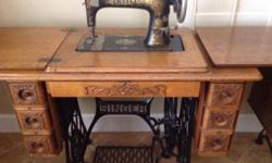 Very nice, I have collected machines for a while, bought these in Kansas at a estate sale bout 12 years ago, moved nd down sizing I have 2 and they are both 550.00 each , as I paid quite a bit for the