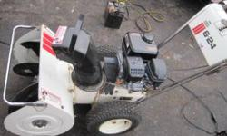 runs great blows great brand new engine still has manufactures warrantee on it 7hp over head valve engine delivery avail for a fee body very solid no rust 24' path big snow no problem tires in great s