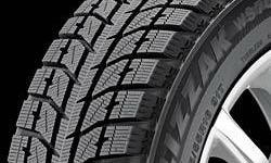 For sale are 4 Bridgestone Blizzak WS70 studless snow tires, used on Volkswagon Golf.  The tire size is 195/65R15.  The tires were used for 4 seasons, but still have a good amount of tread remaining.