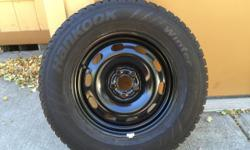 Studded snow tires 205/70r15 mounted on 5 lug wheels. Will fit on Subaru. Very low miles. 90% tread. Located in the gorge The Dalles, Hood River. If interested email sidganders@aol.com