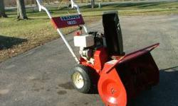 I have 3 Snapper snowblowers for sale. The first snowblower is a 2 stage 5hp with electric start selling for $250.00. The second snow blower is a 4hp 2 stage with pull start selling for $200.00. The 3