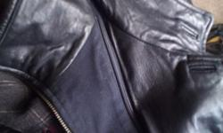 Soft Black Leather Dress Jacket XXL This is a near new soft leather jacket made in Northern Germany. - External and internal pockets This is an expensive high quality leather jacket, Please see pictur