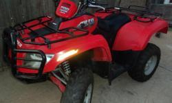 New Condt. - 700cc ATV, Arctic Cat 4X4 2007 Independent Suspension, Fuel Injection, Liquid Cooled Looks & Runs Great $4100. Honda, Suzuki, Yamaha, Kawasaki, UTV