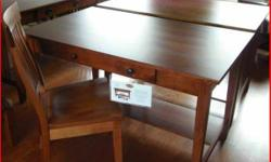 We have a terrific Choice of Solid Wood Desks Available In Stock and available in Customized orders, in your choice of wood, discolor, hardware and Dimension !!!!!!!!!!!!  Drop in or Provide us a phon