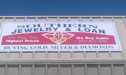 Southern Jewelry and Financing. 2517 Harrison Street. Batesville, Arkansas 72501.  We pay the highest price on anything of value. Please drop in our place at 2517 Harrison Street in Batesville and con