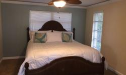 3 Bedrooms, Sleeps 8 Bedroom 1 - 1 king Bedroom 2 - 1 queen Bedroom 3 - 1 queen All bedrooms are equipped with the maximum allergy and bed bug mattress protection, pillow protectors, white, crisp, 400