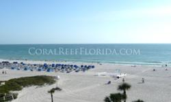 Coral Reef Beach Resort, St Pete Beach Check in March 5th Check out March 12th 1 Bedroom 1 Bath, sleeps 4 Beachfront resort located in St Pete Beach. Full kitchen with full size refrigerator. All line