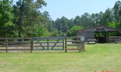 2 1/2 acres pasture,4 stables,covered feed and tack area in Navarre,area to park trailer,very quiet,fenced and cross fenced,water and electric provided,3 horse max but would prefer 2,self feeding call