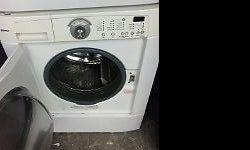 I am selling a Super Capacity front load washer and dryer that can be stacked or placed side by side! Full size and great for limited space! Priced to sell!