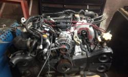 I have a STI version 4 jdm engine with only 30,000 miles. I got this from a jdm engine seller in Miami florida when my 02 wrx spun a bearing. After comprehensive study i found out the engine wouldnt c