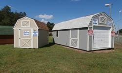 Need A Storage Shed - Warehouse - Barn - Garage, 8 X 8 to 12 X 32 - We Have One For You. (All Of Our Units Come With A Lifetime Warranty - Engineered And Certified To 160 M.P.H.Winds Per Florida Code!