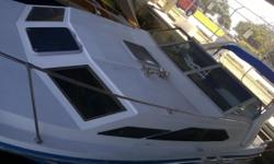 Amazing power cruiser ! 1992 Bayliner 2855 Ciera sunbridge in amazing condition and fully equipped. Low hours, 2006 I/O 275HP single engine. GREAT on gas (10 gal/hour!!!). MARINE AIR CONDITIONING. Fri