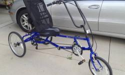 IF YOU WANT THE AWESOME RIDE OF YOUR LIFE ON A BIKE AND GET EXERCISE TOO THIS IS THE BIKE FOR YOU, YOU CAN RIDE FOR MILES AND MILES COMFORTABLE ON THIS RECUMBENT BIKE! I BOUGHT IT IN FLORIDA AND I MOV