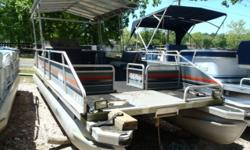 Sun Tracker 24DL with 70hp Mercury. Short term financing available with no credit check. Most boats we require $500.00 down with easy monthly payments. We also offer upgrades such as new or reupholste