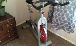 Selling our spin bike in excellent shape. Comes with nice padded seat. $150