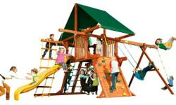 Woodplay Playset Sale - Call today 813-875-5500.  Take 40% OFF any Woodplay Playset plus FREE Pirate Pack plus FREE Hammock Plus FREE Installation! ~ Limited Quantities Available ~ While Supplies Last