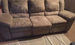 "Used, reclining couch for sale in downtown Kansas City. Must be able to pick up and move. 7' x 40"" x 37"""