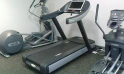 """I have a Techno gym Treadmill for sale. Run Now 700 UNITY Cod. DAK8AVT this is a very high end treadmill that includes a 19"""" HD ready TV and a Internet ready touchscreen Please Call, Text, or e-mail A"""