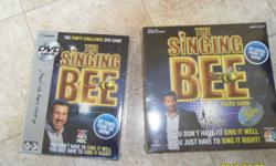 I have two of The Singing Bee Games. I am selling these games for 5 dollars a piece, there is still a Macy price tag on the back showing that the games are 30 dollars. These are brand new games never