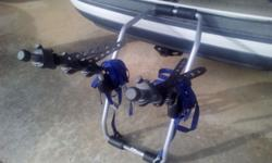 Thule - rear 4 bike carrier Comes with all straps. Please see pictures! All questions are welcome!