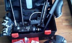"This kit includes:  -Marker/Gun: Tippmann 98 Custom (with hopper) -8"" Barrel: Stock Tippmann 98 -14"" Barrel: ACI Zero Gravity -16"" Barrel: CMI Tru-Flight -Flatline Barrel: Tippmann 98 Custom Model (wi"