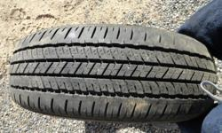 BRIDGESTONE P225/65R17  100T  M+S      EXCELLENT CONDITION CHANGED TO STUDDED SNOW TIRES & SOLD VEHICLE - PHOTOS AVAILABLE - TREAD AS PICTURED ON ALL 4 TIRES
