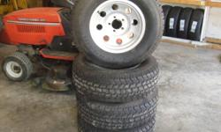 235/75/15 LT ALL TERRAIN TIRES LIKE NEW 400.00 ON THESE RIMS FIT JEEP WRANGLER OR JEEP CHEEROKEE 300.00 WITHOUT RIMS DAVES TIRE AND AUTO 3200   show contact info
