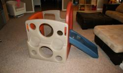 Step 2 Kangaroo Climber In excellent like new condition-used primarily indoors-from smoke free home-$40   Fisher Price Learning Table In excellent condition-from smoke free home-$20   Fisher Price Cra