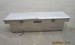 """Truck tool box for sale.Overall dimensions 70"""" depth 16"""" width 19"""". No key. Paid $150 new. Call or text 563 451 6299 // //]]> Location: dubuque"""