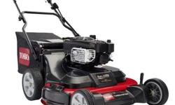 For homeowners with big yards and busy schedules, the Toro?s new Time Master 30 in. mower covers more ground in less time, significantly reducing your mowing time. The Dual-Force cutting system with A