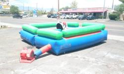 I HAVE A MECHANICAL BULL FOR RENT TONS OF FUN GIVE US A CALL   TORO MECANICO  392-5270  Key Words; jumping castle, jumping castles, jumpie, jumpies, bounce house, astro jump, fun house, moonwalk, big