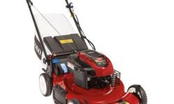 With the Personal Pace system that matches your walking speed and a 3-in-1 bagging system, the Toro Recycler 22 in. 7.25 Series Briggs & Stratton Gas Variable Speed Self-Propelled Electric-Start Walk-